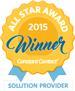 WebGear Studios, Inc. is a Constant Contact 2015 Solution Provider All Star Award winner