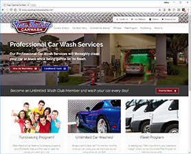 Car Wash Websites For The Carwashing Industry - Cool car websites